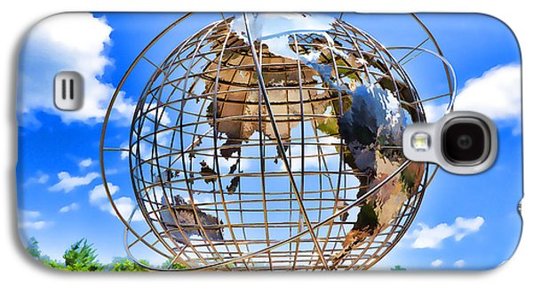 Globe At Columbus Circle Galaxy S4 Case by Lanjee Chee