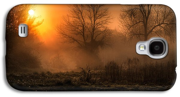 Glowing Sunrise Galaxy S4 Case