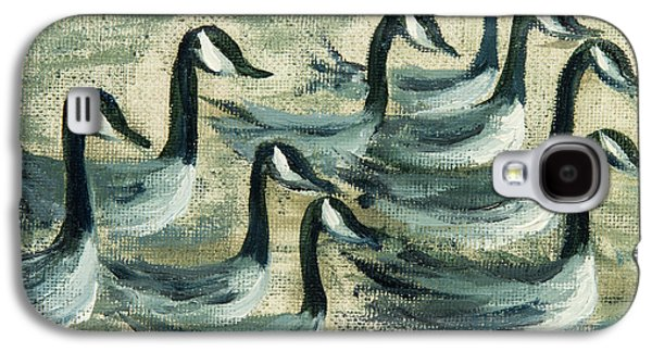 Go Geese Galaxy S4 Case by Jodi Monahan