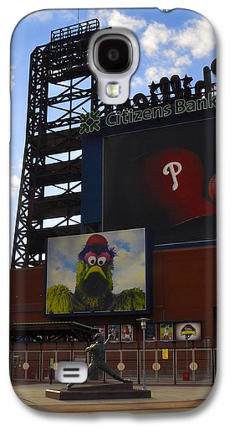 Go Phillies - Citizens Bank Park - Left Field Gate Galaxy S4 Case by Bill Cannon