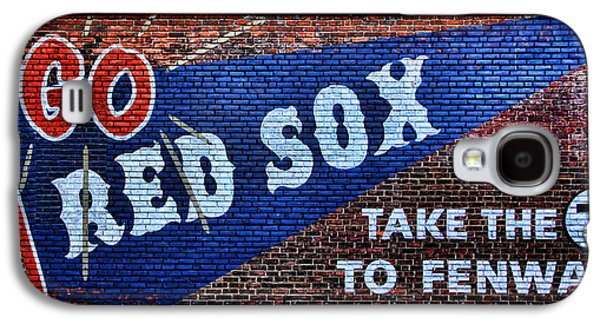 Go Red Sox Galaxy S4 Case by Stephen Stookey