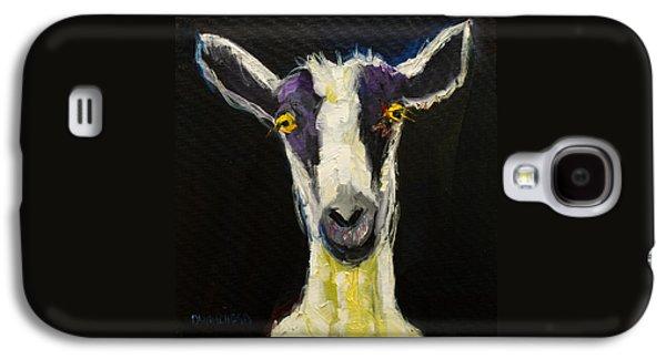 Goat Gloat Galaxy S4 Case by Diane Whitehead