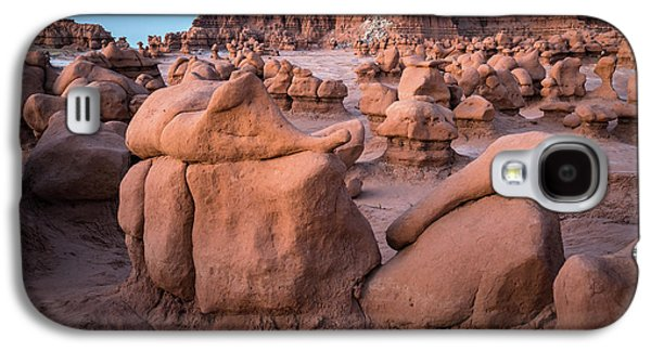 Goblin Valley Rock Formations Galaxy S4 Case by James Udall