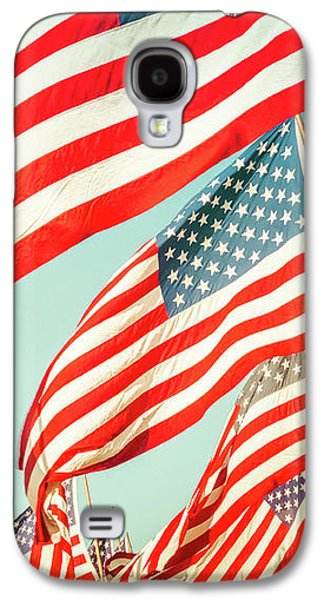 God Bless America Galaxy S4 Case by Debi Bishop