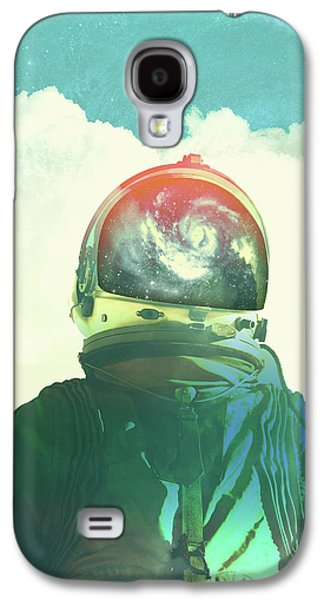 God Is An Astronaut Galaxy S4 Case by Fran Rodriguez
