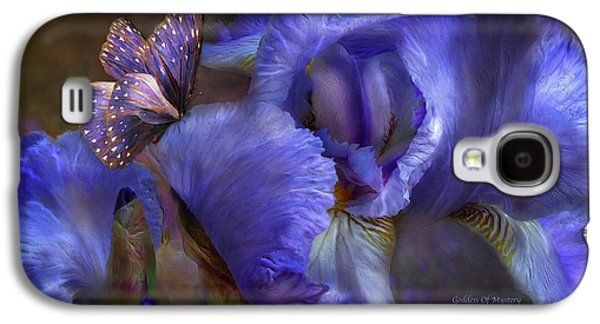 Goddess Of Mystery Galaxy S4 Case by Carol Cavalaris