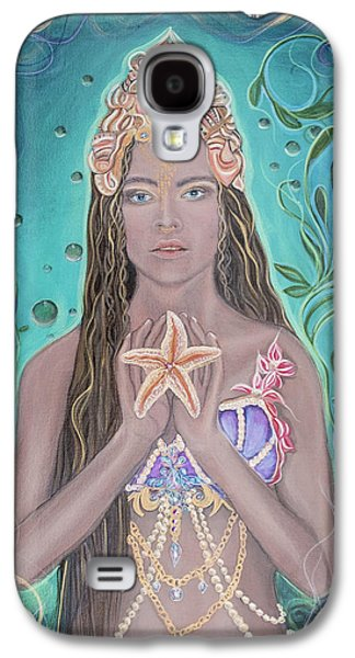Goddess Of The Sea  Galaxy S4 Case by Angel Fritz