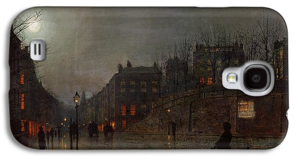 Going Home At Dusk Galaxy S4 Case by John Atkinson Grimshaw