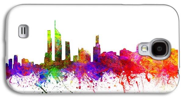 Gold Coast Australia Cityscape 02 Galaxy S4 Case
