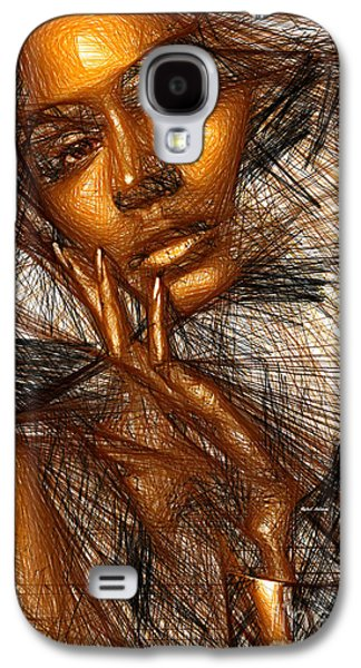 Gold Fingers Galaxy S4 Case