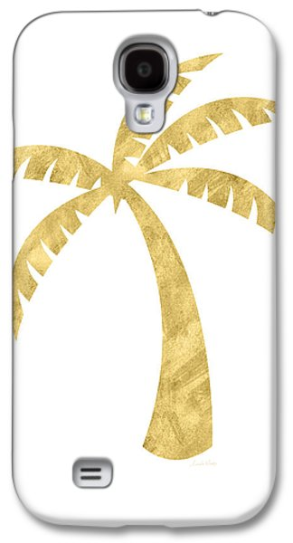 Gold Palm Tree- Art By Linda Woods Galaxy S4 Case