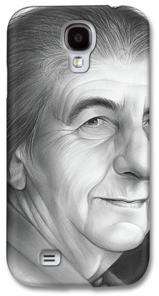 Golda Meir Galaxy S4 Case by Greg Joens
