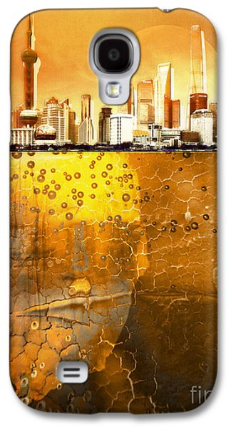 Golden City Galaxy S4 Case by Jacky Gerritsen