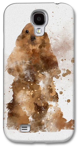 Golden Cocker Spaniel Galaxy S4 Case by Rebecca Jenkins