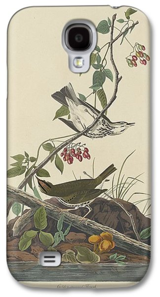 Golden-crowned Thrush Galaxy S4 Case