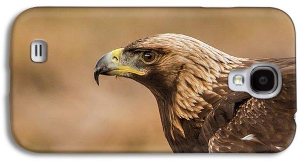 Golden Eagle's Portrait Galaxy S4 Case by Torbjorn Swenelius