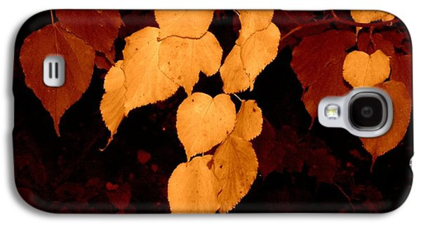 Golden Fall Leaves Galaxy S4 Case