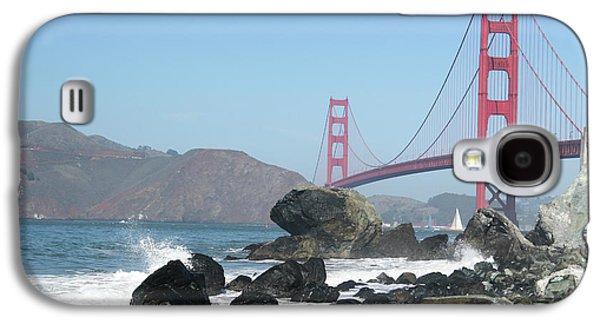Golden Gate Beach Galaxy S4 Case