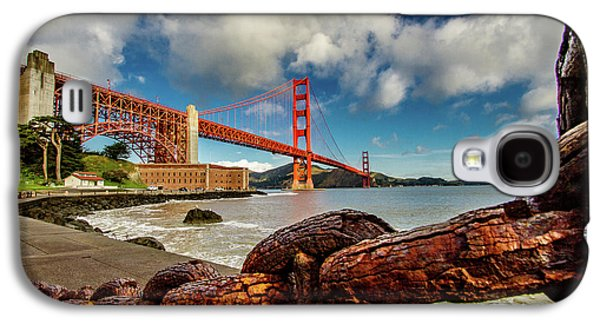 Golden Gate Bridge And Ft Point Galaxy S4 Case