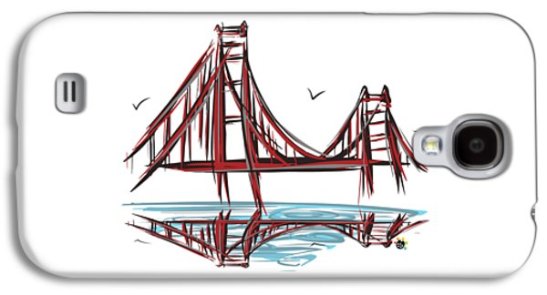 Golden Gate Bridge Galaxy S4 Case