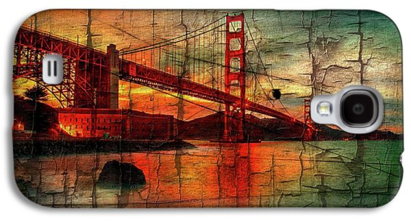 Golden Gate Weathered Galaxy S4 Case