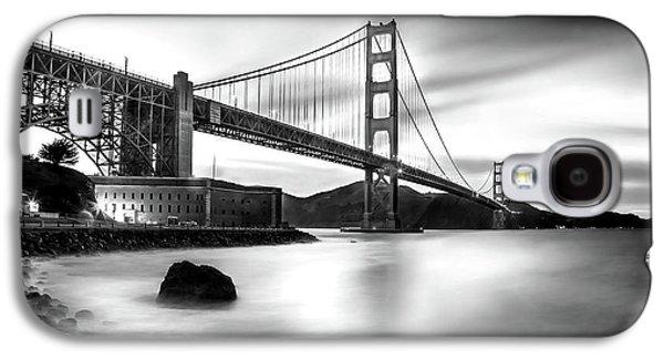 International Travel Galaxy S4 Case - Golden Gateway Bw by Az Jackson