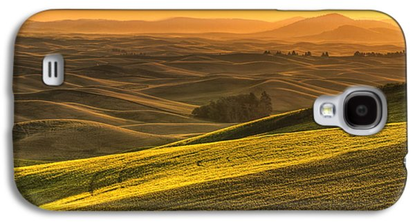 Golden Grains Galaxy S4 Case by Mark Kiver