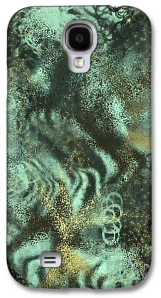 Galaxy S4 Case - Golden Green by Orphelia Aristal