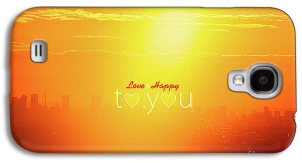 To You #002 Galaxy S4 Case by Tatsuya Atarashi