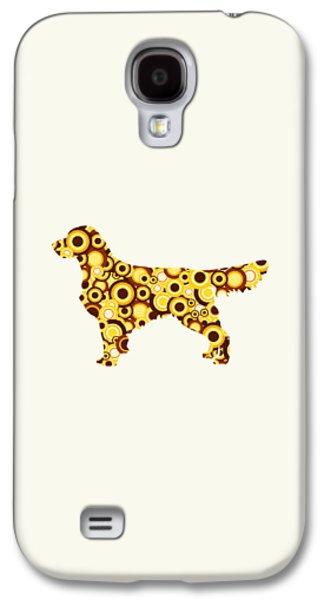 Golden Retriever - Animal Art Galaxy S4 Case by Anastasiya Malakhova