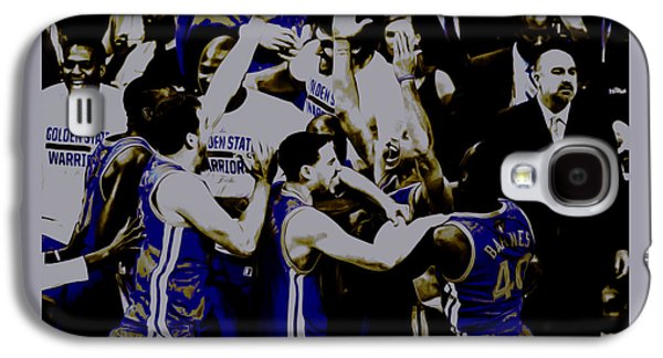 Golden State Warriors 2015 Finals Galaxy S4 Case by Brian Reaves
