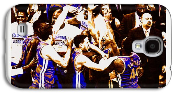 Golden State Warriors 2015 Nba Finals Galaxy S4 Case by Brian Reaves