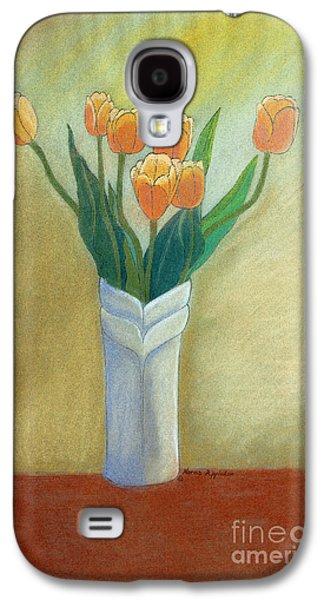 Golden Tulips Galaxy S4 Case