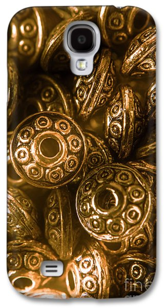 Golden Ufos From Egyptology  Galaxy S4 Case by Jorgo Photography - Wall Art Gallery