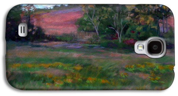 Autumn Landscape Pastels Galaxy S4 Cases - Goldenrod Afternoon Galaxy S4 Case by Julie Mayser