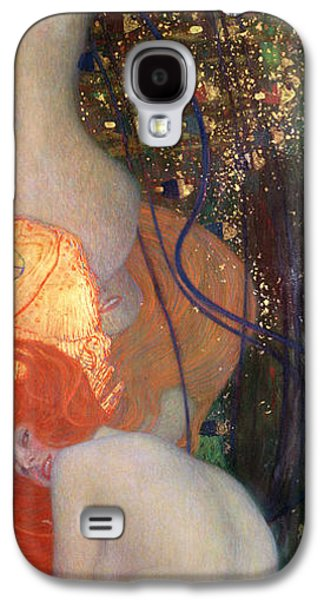 Goldfish Galaxy S4 Case by Gustav Klimt