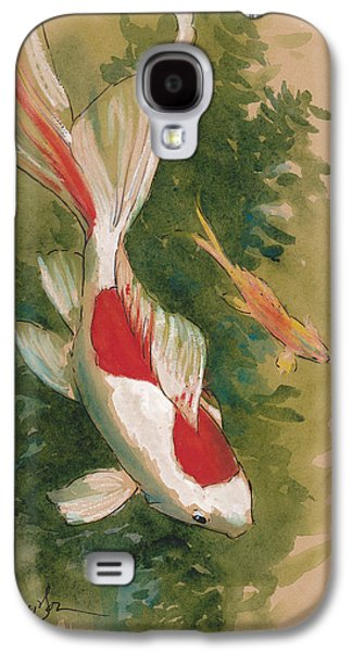 Goldfish Pair Galaxy S4 Case by Tracie Thompson