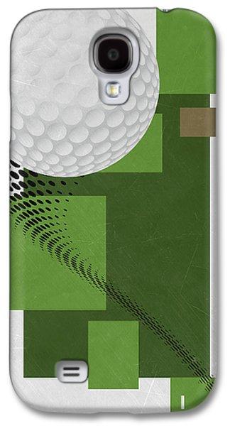 Golf Art Par 4 Galaxy S4 Case by Joe Hamilton