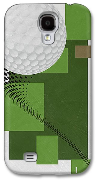 Golf Art Par 4 Galaxy S4 Case by Joe Hamilton
