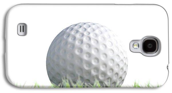 Golf Ball Resting On Grass Galaxy S4 Case