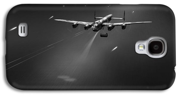 Galaxy S4 Case featuring the photograph Goner From Dambuster J-johnny Bw Version by Gary Eason