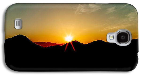 Good Morning Sunshine Galaxy S4 Case by Az Jackson