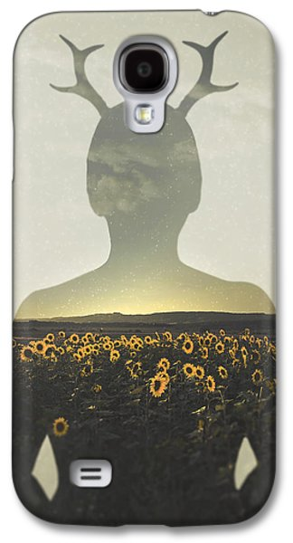 Sunflower Galaxy S4 Case - Goodbye Summer by Art of Invi