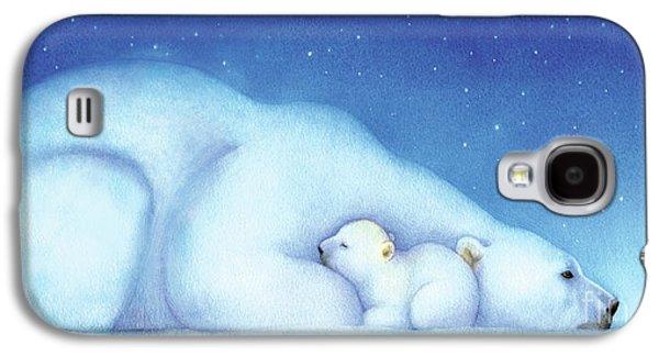 Arctic Bears, Goodnight Nanook Galaxy S4 Case by Tracy Herrmann