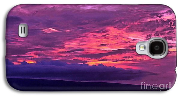 Goodnight World Galaxy S4 Case by Krissy Katsimbras