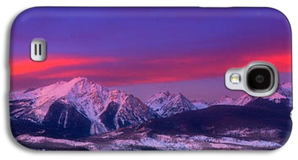 Gore Range Sunrise Galaxy S4 Case