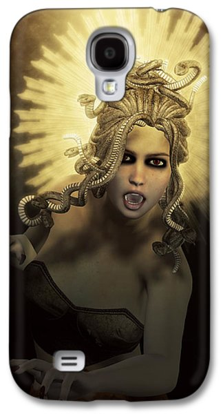 Gorgon Medusa Galaxy S4 Case by Joaquin Abella