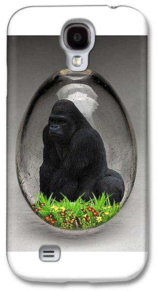 Gorilla Ape Art Galaxy S4 Case