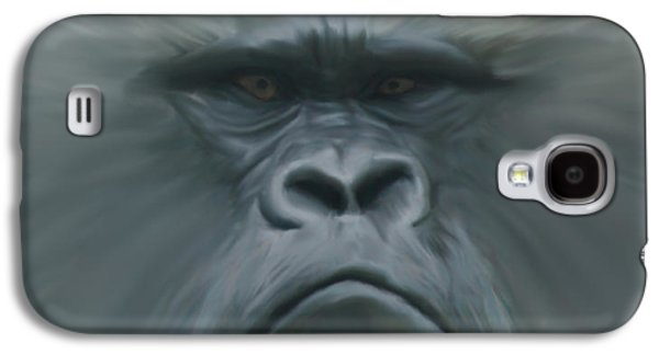 Gorilla Freehand Abstract Galaxy S4 Case