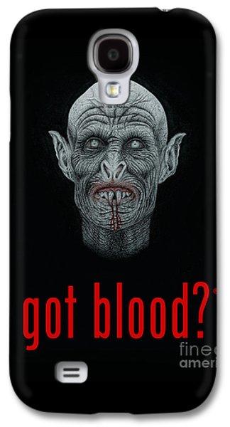 Got Blood? Galaxy S4 Case by Wave